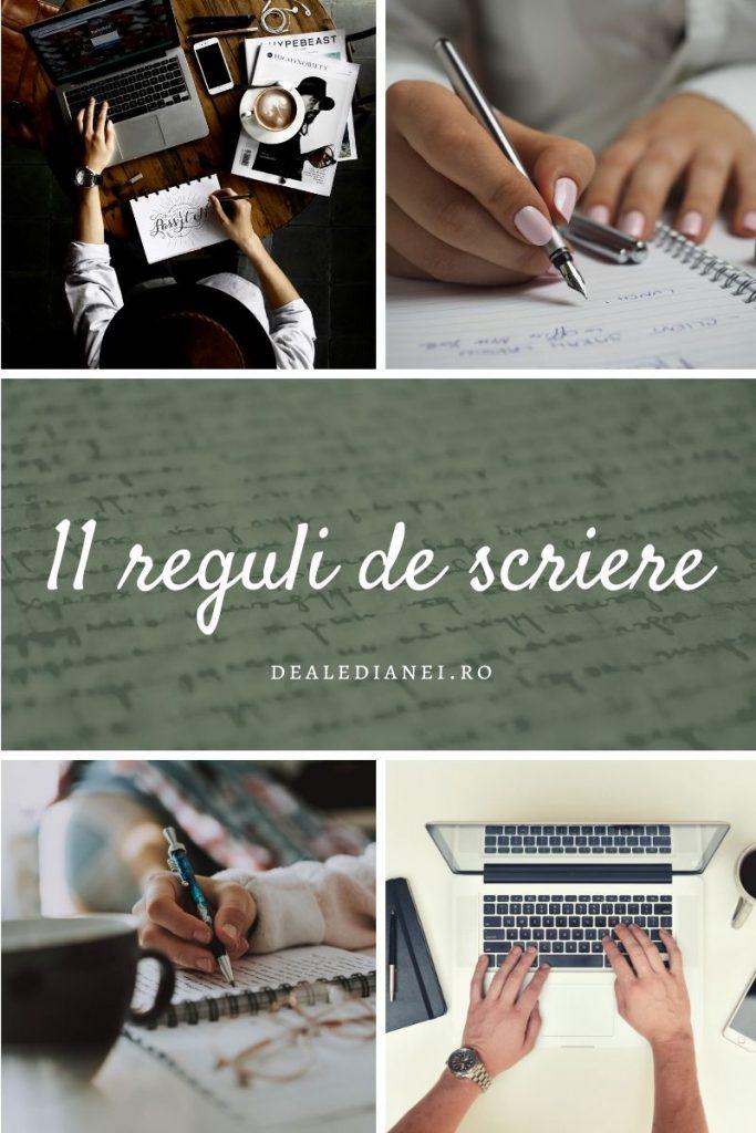 11 reguli de scriere pentru toți