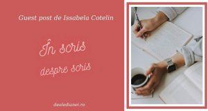 În scris despre scris
